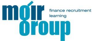 Moir Group finance recruitment learning logo