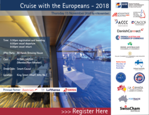 Cruise with the Europeans invitation