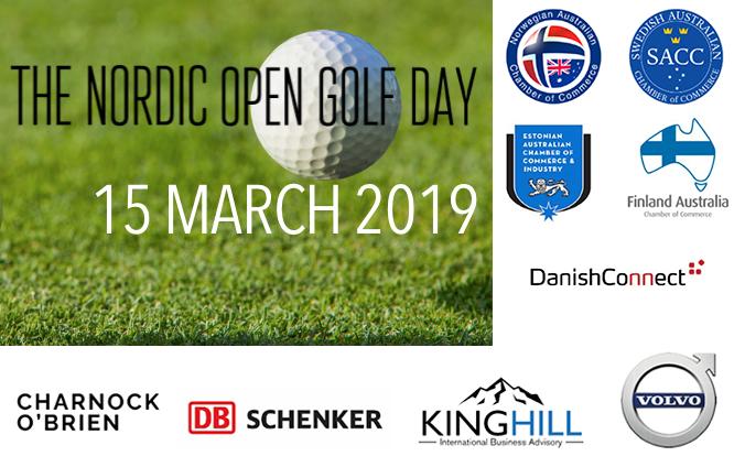 Nordic Open Golf Day 2019 invitation