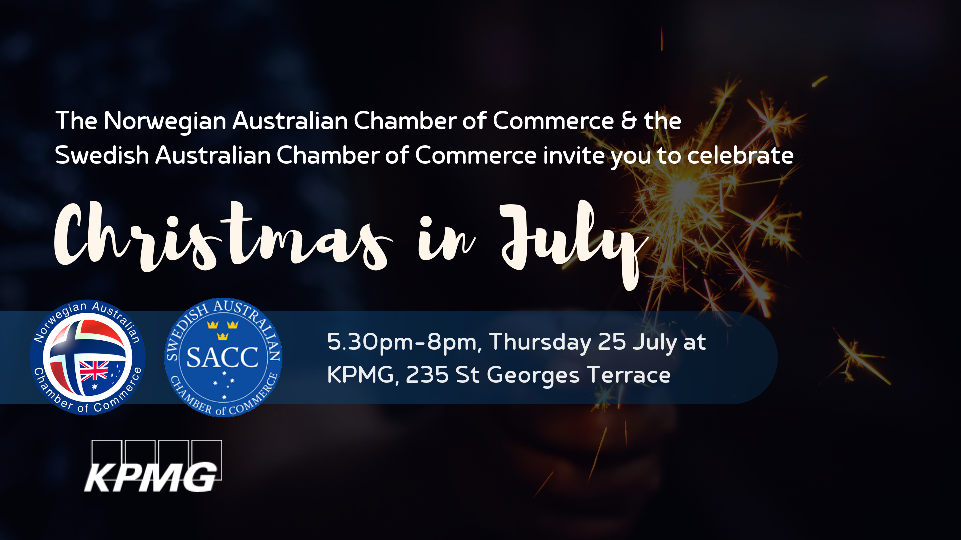 Christmas In July Australia 2019.Perth Christmas In July With Nacc And Sacc